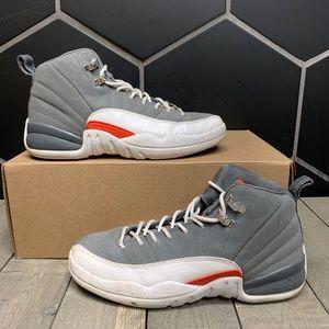 Air Jordan 12 GS Cool Grey Sneakers Size 6 Youth